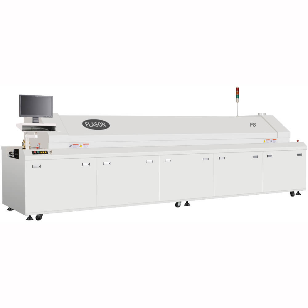 SMT Assembly line Machine PCB soldering Reflow Oven for Consumer Electronics PCB production F8