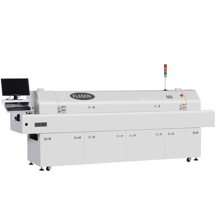 SMT Assembly line lead free reflow oven for solar street light M6